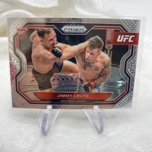 Lot # 12 No. 170 2021 Panini Prizm UFC JIMMY CRUTE
