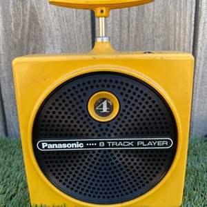 Lot # 162 Panasonic 8 Track Player