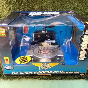 Lot # 94 Flight Factory SpinBlade RC Helicopter  (NIB)