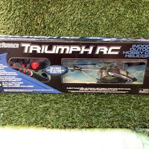 Lot # 96 BladeRunner Triumph RC Helicopter (NIB)