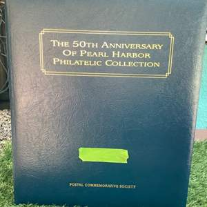 Lot # 182 The 50th Anniversary of Pear Harbor Philatelic Stamp Collection