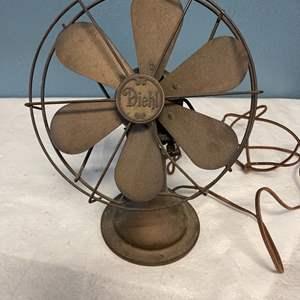 Lot # 80 Old Diehl Fan (Untested)