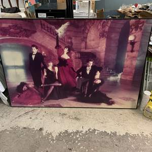 Lot # 89 Large Print of Performers