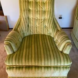 Lot # 1 Multi-Color Armchair 1