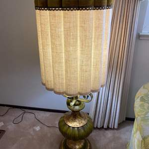 Lot # 6 Faux Candlestick Holder Lamp, Standing - Turns On