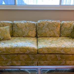 Lot # 8 Multi-Color Couch with Floral? Print