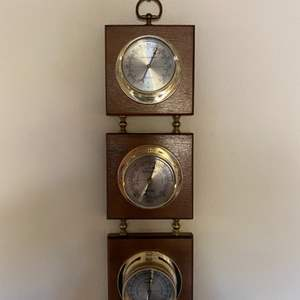 Lot # 23 Thermometer, Barometer, and Humidity Set