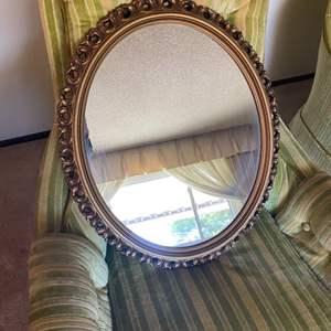 Lot # 36 Round Hangable Mirror