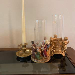 Lot # 44 Lot of Display Candle Holders