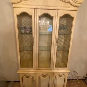 Lot # 49 Display Cabinet (Refer to Measurements, It's not the LARGE Hutches)