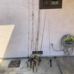 Lot # 67 Lot of Fishing Rods