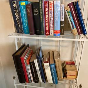 Lot # 85 Two Shelves of Books - Shelving Unit NOT Included