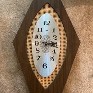 Lot # 103 Fun Narrow Clock!