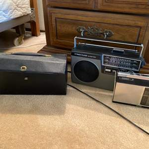 Lot # 105 Lot of Electronics - Stereo 8 Items, 8 Track Player, Etc.