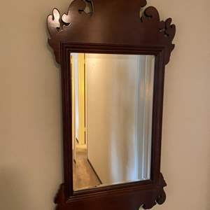 Lot # 108 Mirror with Fancy Frame