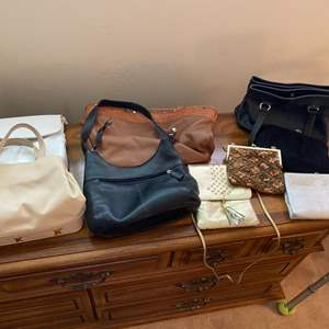 Lot # 111 Lot of Handbags and Purses