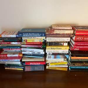 Lot # 127 Lot of Books - Medical, Cooking, Nature, Etc.