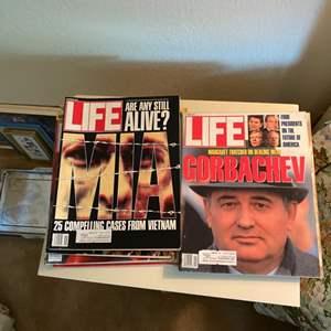 Lot # 133 Lot of Life Magazines