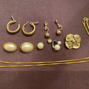 Lot # 151 Lot of Gold-tone Jewelry, Some Marked