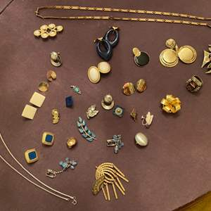 Lot # 155 Collection of Jewelry, Mostly Earrings