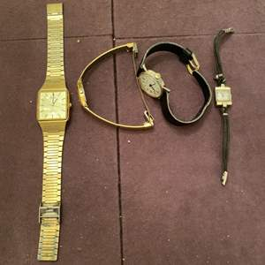 Lot # 156 Lot of Four Watches, Two Marked Pulsar