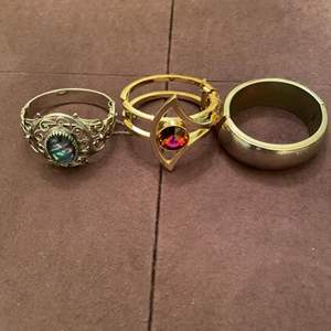 Lot # 159 Lot of Three Rings, Two Marked Whiting and Davis
