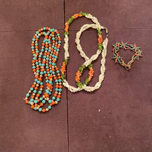 Lot # 167 Lot of Colorful Beaded Jewelry