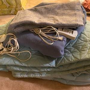 Lot # 187 Lot of Electric Blankets