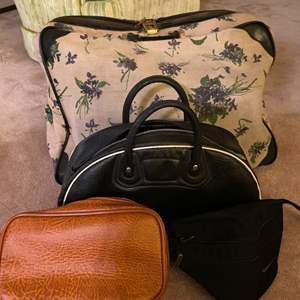 Lot # 190 Four Different Types of Bag - One with Lock, Fanny Pack, Purse, and Handbag
