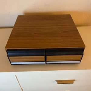 Lot # 203 Cassette Tape Storage?