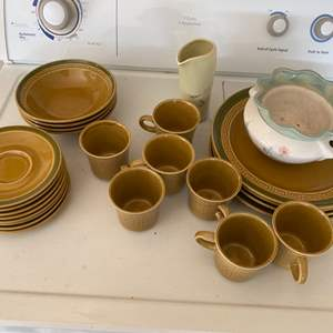 Lot # 215 Topaz Brand International Stoneware from Japan plus Other Pieces of Dishware