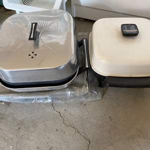 Lot # 224 Two Small Electric Grills
