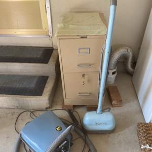 Lot # 225 Lot of Two Vacuums - Filing Cabinet NOT Included