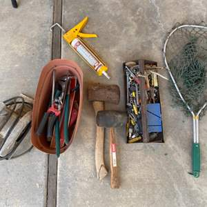 Lot # 263 Lot of Tools and Misc. Items