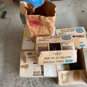 Lot # 308 Lot of Many Mason Jars