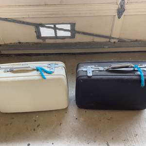 Lot # 309 Two Vintage Suitcases
