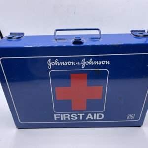 Lot # 38 Johnson & Johnson Brand First Aid Kit