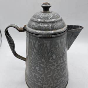 Lot # 178 Camping Coffee Kettle
