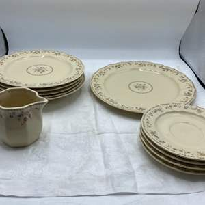 Lot # 124 Country English Dinnerware Styled by Mikasa - Aristcrat