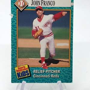 Lot # 160 Sports Illustrated for Kids JOHN FRANCO
