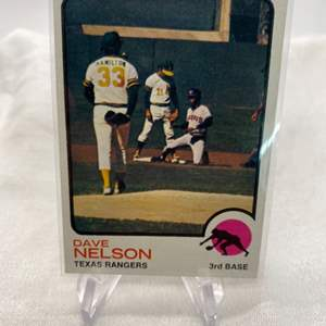 Lot # 107 No. 111 1972 Topps Chewing Gum DAVID EARL NELSON