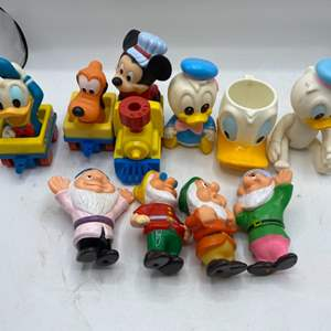 Lot # 43 Lot of Disney Collectables - Lots of Donald Duck and Seven Dwarves