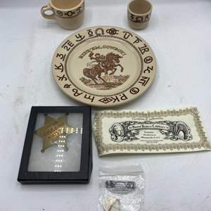 """Lot # 57 Lot of Items Themed Around """"The West"""""""