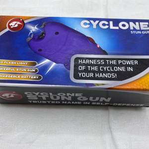 Lot # 150 Cyclone Brand Stun Gun