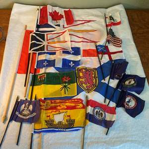 Lot # 6 Collection of Flags