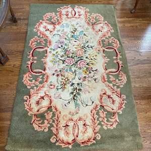 Lot # 26 Beautiful and Elegant Woven Rug