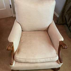 Lot # 27 Upholstered Sitting Chair