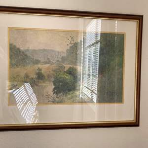 Lot # 53 Dry River Valley Print by Paul Sawyier