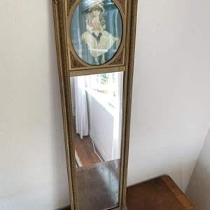 Lot # 88 Vintage Mirror
