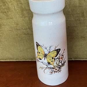 Lot # 90 Butterfly Vase